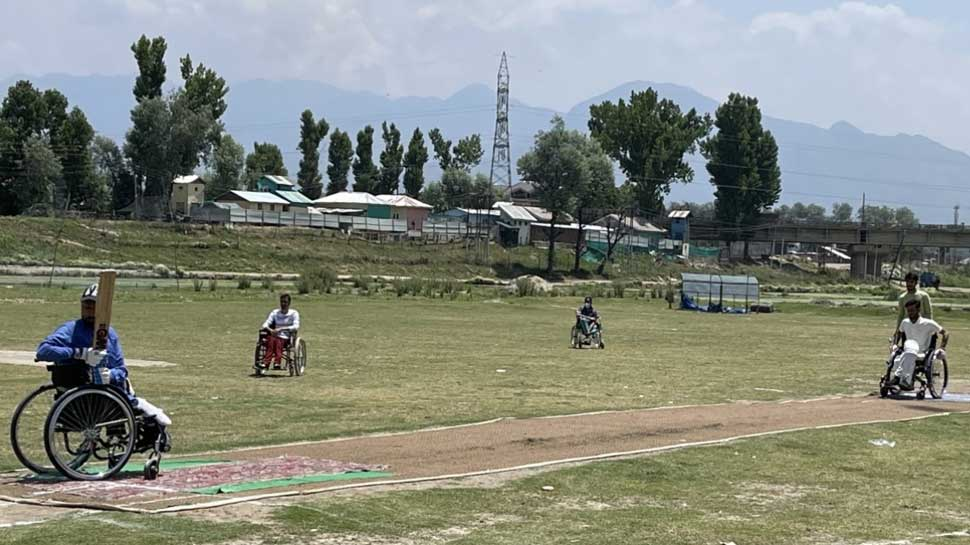 Kashmir Wheelchair Cricket 1