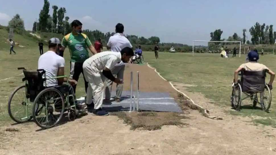 Kashmir Wheelchair Cricket 3