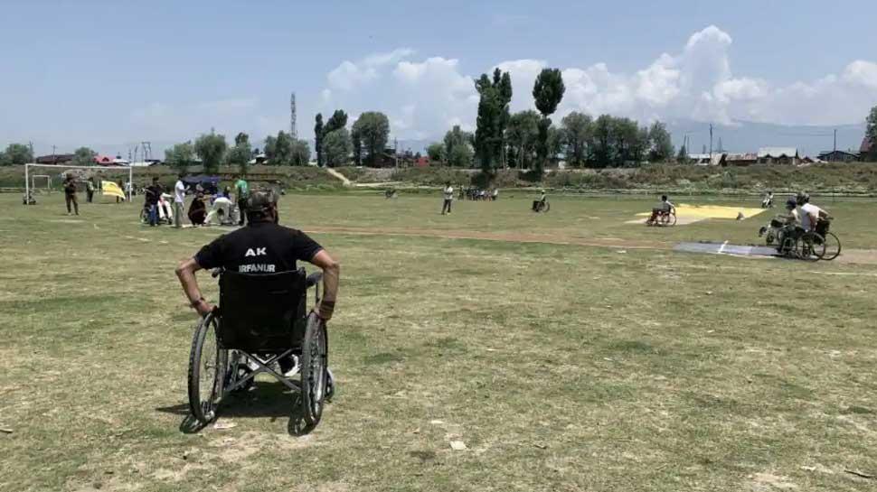 Kashmir Wheelchair Cricket 4
