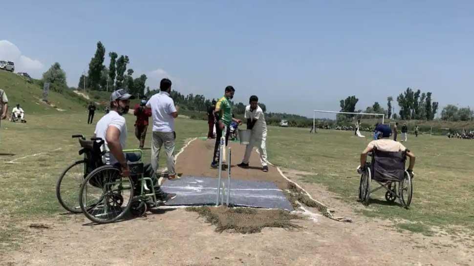 Kashmir Wheelchair Cricket 5