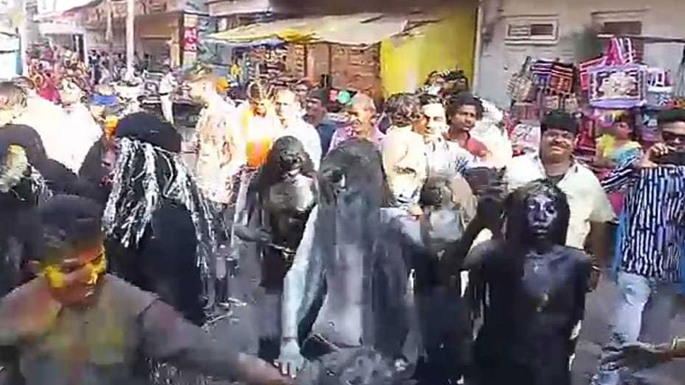 Ujjain: On the reception of Shiva-Parvati, the whole city is invited to participate in the procession