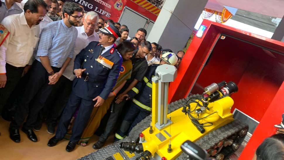 Robot will help Mumbai Fire brigade squad
