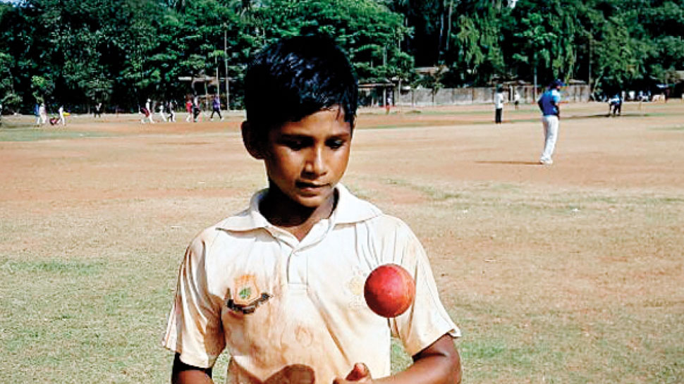 Mursheed Khan at the Age of 9