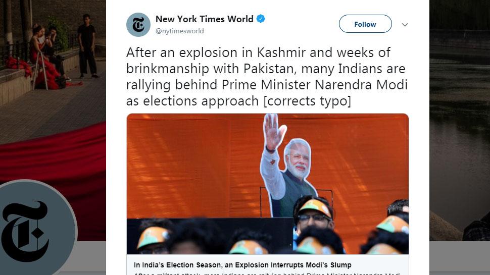 NYT tweet correction