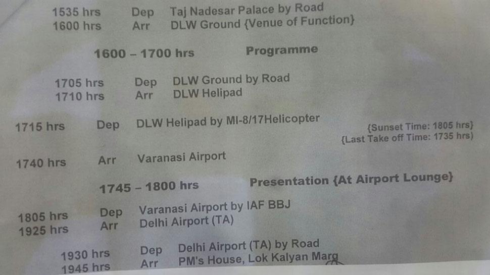 PM Modi and French President Emmanuel Macron will visit Varanasi