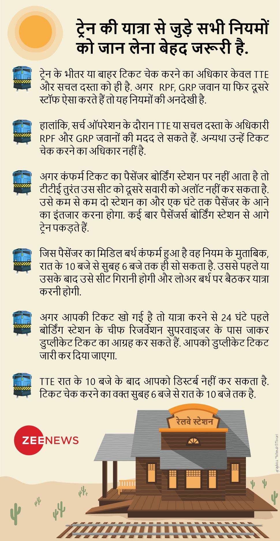 भारतीय रेलवे, indian railway, IRCTC, TTE