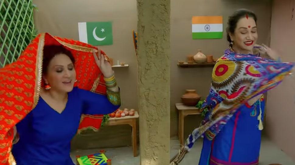 Pakistani Artist Bushra Ansari rap goes viral appeal India, Pakistan Peace