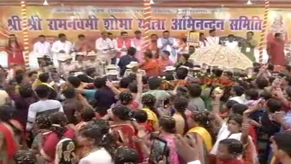 Ram Navmi Shobha Yatra at Patna in Bihar