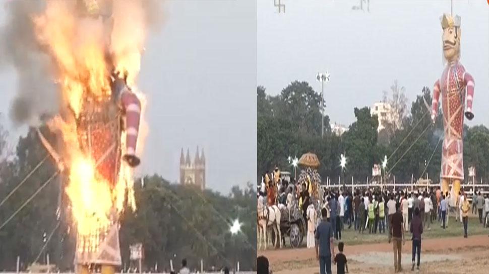 Bihar Gandhi maidan dussehra at patna