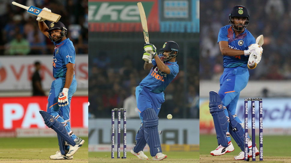 Rohit, Shikhar and KL in Form