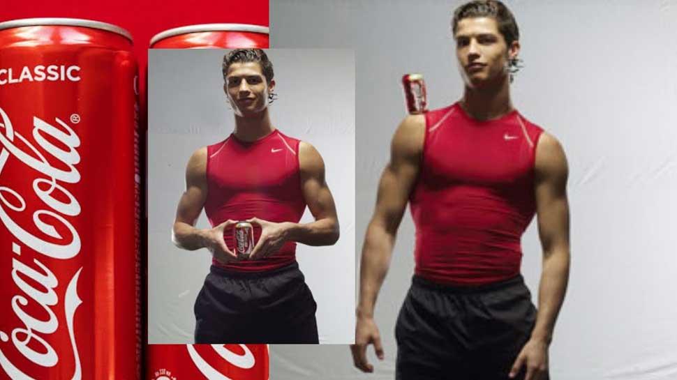 Ronaldo Coke old Ad