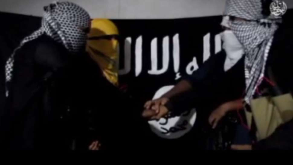 Amaq Agency releases an 8-min video of four Bangladeshi ISIS operatives