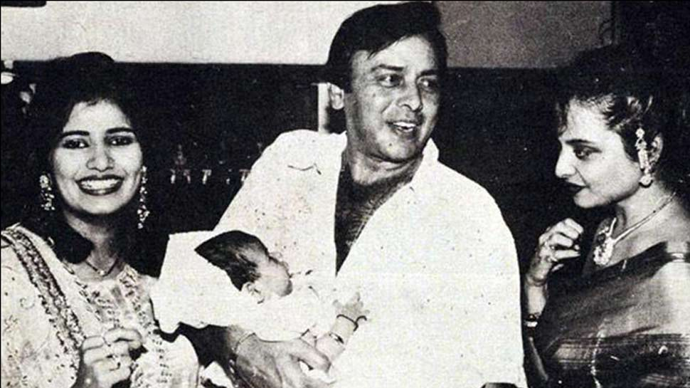 Vinod Mehra With Kiran And Son Rohan And Rekha