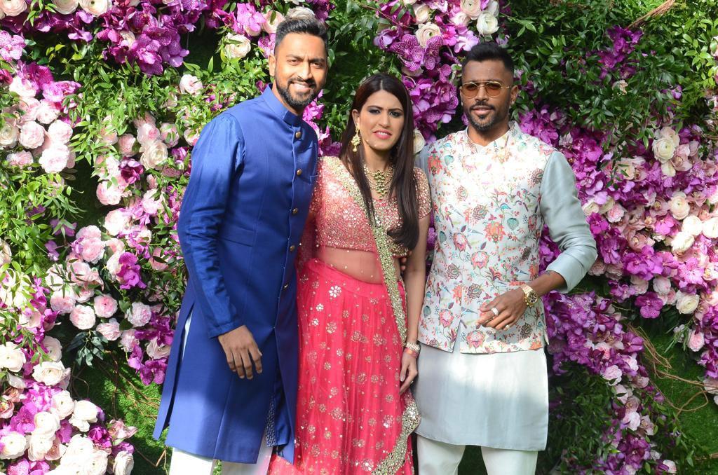 Many cricketers reached in Akash Ambani and Shloka Mehta wedding
