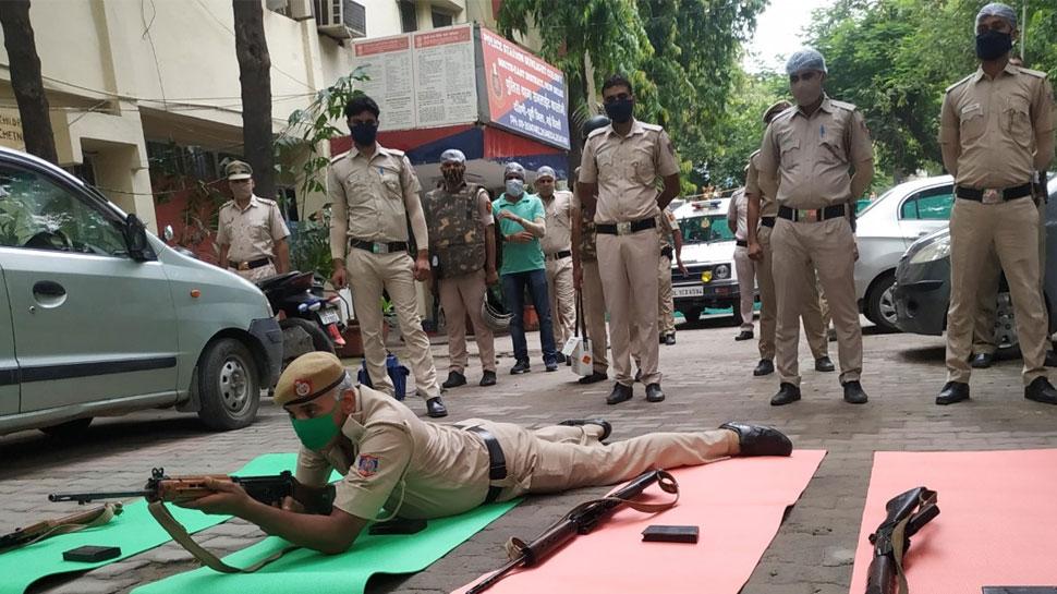 delhi police training