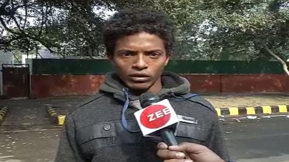 Bihar young man run form Vaishali to Delhi