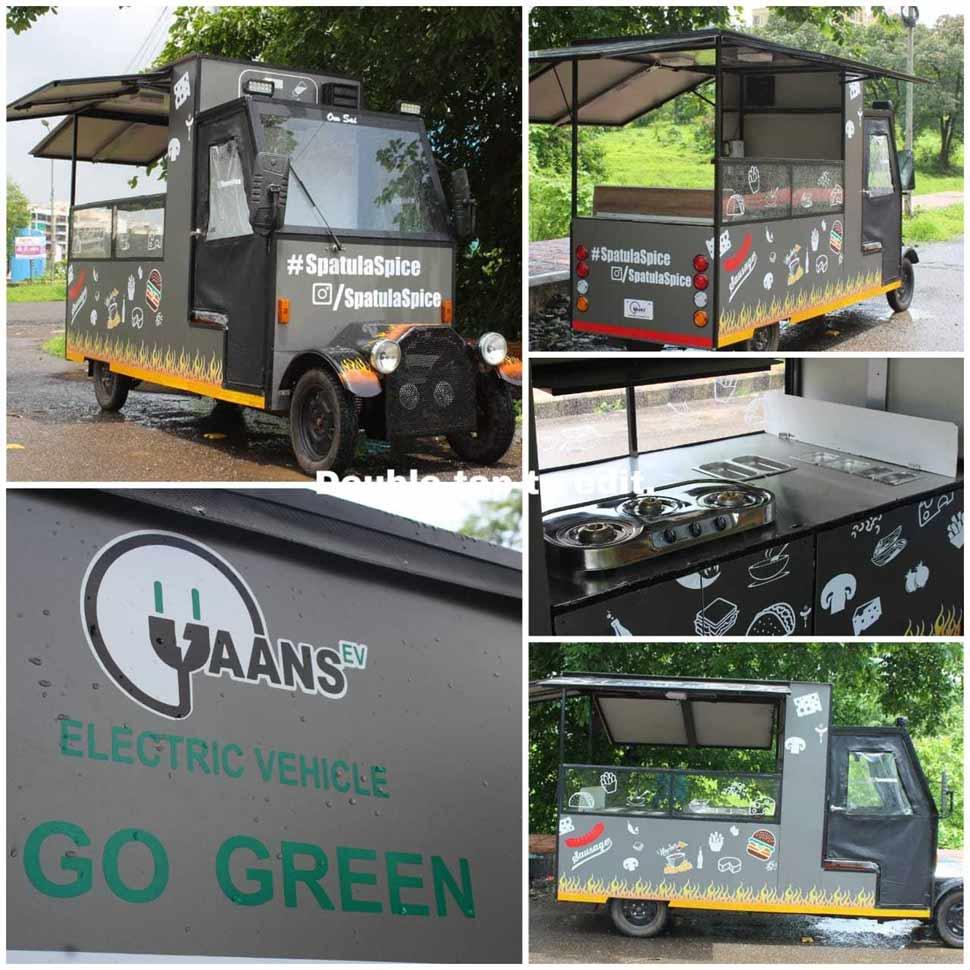 ई-फूड ट्रक, e food truck, e food truck in badlapur, badlapur