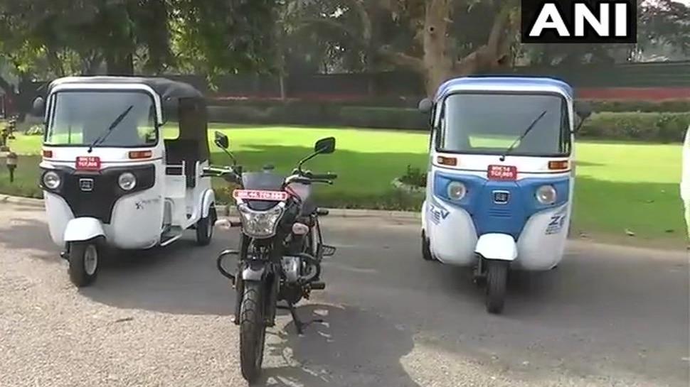 nitin gadkari, nitish kumar, ethanol, ethanol auto, ethanol bike