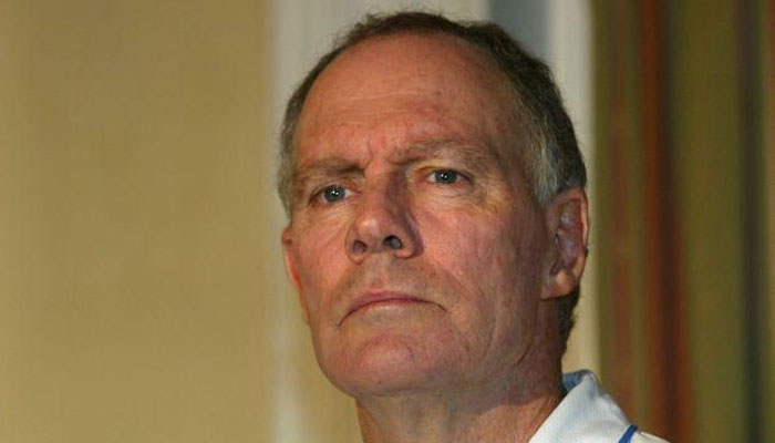 Greg Chappell was the coach of the Indian team in 2005