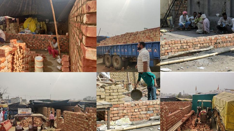 house at delhi borders