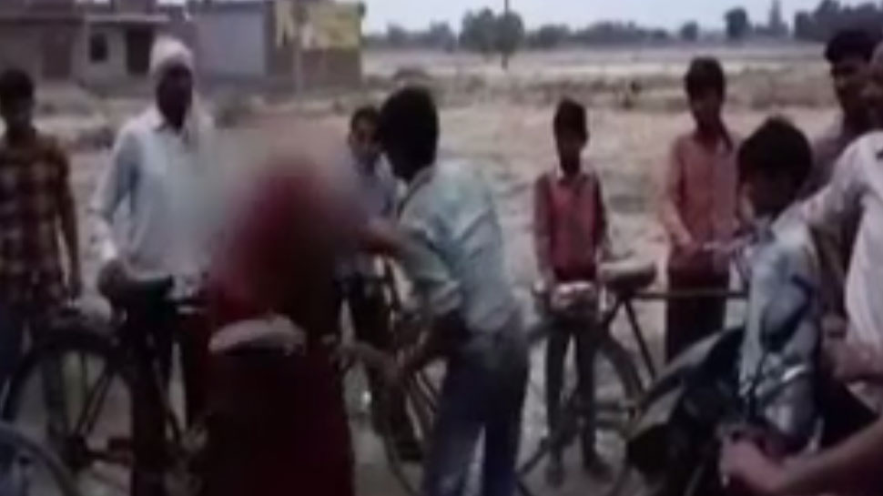 mother beaten a man who attempted to rape her daughter in kannauj