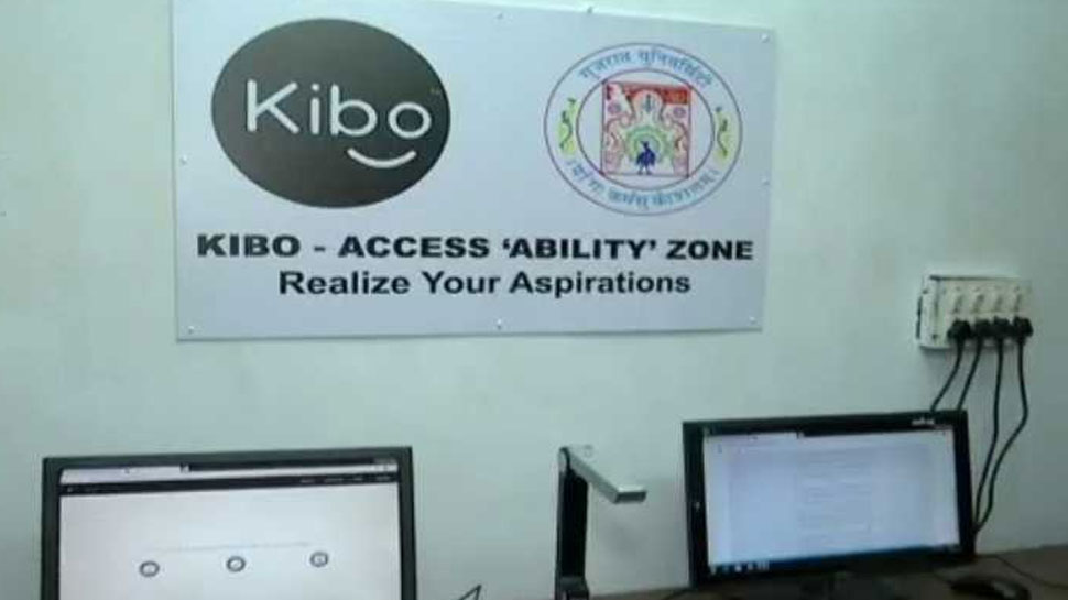 Boney Dave of Gujarat developed the Kibo software for blind students