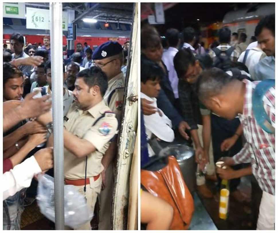 मुंबई बारिश, Mumbai rain, Mahalaxmi Express, rainfall
