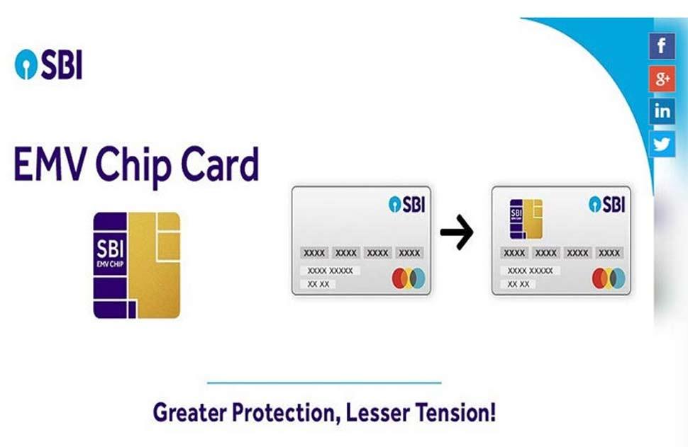 स्टेट बैंक ऑफ इंडिया, State bank of India, sbi emv chip debit card, sbi magnetic card