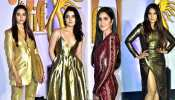 IIFA Rocks 2019: Katrina Kaif, Radhika Madan and Rakul Preet look glamorous in Golden Style