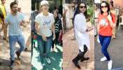 Urmila Matondkar, Anil Kapoor, Varun Dhawan and many Stars Viting in Mumbai