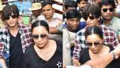 PHOTOS: Shahrukh Khan arrives to cast vote with wife Gauri, fans like this!