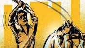 फैक्ट्री मैनेजर की बदसलूकी, मजदूर को महिला लेबर के सामने निर्वस्त्र कर पीटा