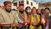 बैजनाथ धाम: कैबिनेट मंत्री सतपाल महाराज ने 30 करोड़ की योजनाओं का किया शिलान्यास