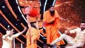 Indian Idol 12 के सेट पर बाबा Ramdev ने उठाया LPG  सिलेंडर, कदमों में बैठे Jay Bhanushali