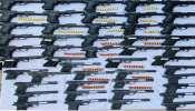 ਪੰਜਾਬ ਪੁਲਿਸ ਨੇ ਵਿਦੇਸ਼ੀ ਪਿਸਟਲਾਂ ਦੀ ਵੱਡੀ ਖੇਪ ਕੀਤੀ ਜ਼ਬਤ