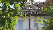 Man finds creepy hidden room in his house, says- he has lived in the property for four years, but he never knew room existed