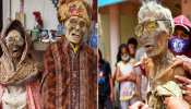 Torajan Community of Indonesia like to live with the deadbodies, celebration on death