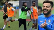 Shreyas Iyer posts pictures of playing football with MS Dhoni and Ranveer Singh, Virat Kohli trolls
