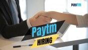 Paytm दे रहा है जबरदस्त ऑफर! 20,000 से अधिक की हायरिंग; गांव-शहर में नौकरी पाने का बेहतर मौका