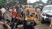 बस्तर के कोंडागांव में भीषण सड़क हादसा, 8 की मौत और 8 गंभीर घायल