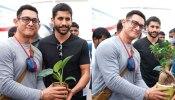 'ग्रीन इंडिया चैलेंज' का हिस्सा बने आमिर खान, साउथ एक्टर नागा चैतन्य ने दिया साथ