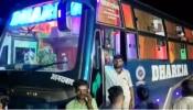 शराब के नशे में रोडवेज कर्मियों पर लगा निजी बस पर पथराव का आरोप, घटना में 2 घायल