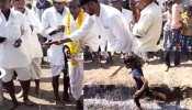 ये कैसी परंपरा! जन्म होने पर रखते हैं मान्यता, विजयादशमी पर बच्चों के साथ अंगारों पर दौड़ते हैं ग्रामीण