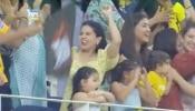 IPL: चेन्नई सुपर किंग्स की जीत पर यूं झूमने लगीं साक्षी, Viral हो रहा ये Video