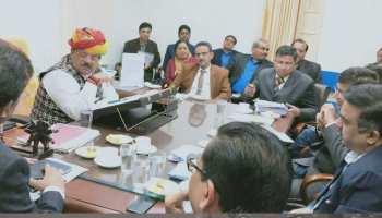 राजस्थान में स्वाइन फ्लू को लेकर एक्शन में स्वास्थ्य मंत्री, दिए अहम निर्देश