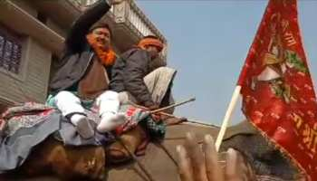 बिहार सरकार के मंत्री खुर्शीद आलम ने लगाए 'जय श्रीराम' के नारे, समर्थन में उतरी बीजेपी