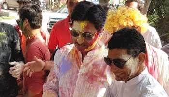 Jogira2019: कुमार विश्वास ने ली चुटकी, तो MLA को पीटने वाले सांसद बोले- 'बुरा न मानो होली है'
