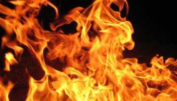 मुंगेर: भीषण आग लगने से छह घर जलकर हुए राख, लाखों की संपत्ति जलकर खाक