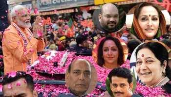 वाराणसी में PM मोदी के नामांकन में शामिल होंगे दिग्गज नेता और फिल्मी सितारे, देखें लिस्ट