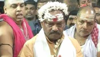 रघुवर दास ने देवघर में की पूजा-अर्चना, कहा- नरेंद्र मोदी दोबारा बनेंगे प्रधानमंत्री